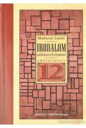 Irodalmi szöveggyűjtemény a középiskolák 12. évfolyam számára - Madocsai László - Régikönyvek