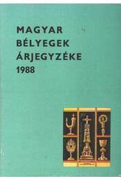Magyar bélyegek árjegyzéke 1988. - Régikönyvek