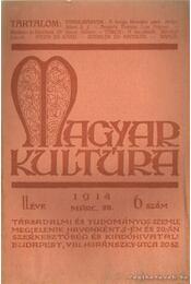 Magyar kultúra 1914. 6.szám - Régikönyvek
