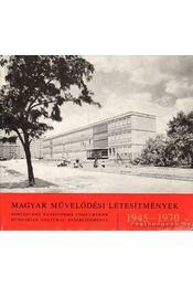 Magyar művelődési létesítmények 1945-1970 - Régikönyvek