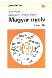 Magyar nyelv I. osztály - Régikönyvek