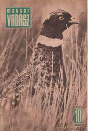 Magyar Vadász 1964/10 - Régikönyvek