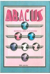 Abacus 2000. március - Magyar Zsolt - Régikönyvek