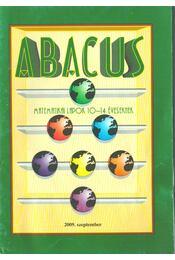 Abacus 2009. szeptember - Magyar Zsolt - Régikönyvek