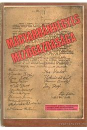 Magyarbánhegyes mezőgazdasága - Régikönyvek