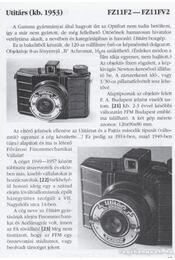 Magyar fényképezőgépek 1856-1966 - Fejér Zoltán - Régikönyvek