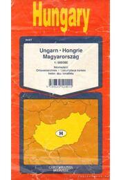 Magyarország térképe (1:500000) - Régikönyvek