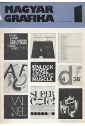 Magyar Grafika 1979. 1-6. szám (teljes) - Régikönyvek