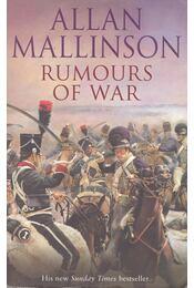 Rumours of War - MALLISON, ALLAN - Régikönyvek
