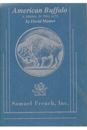 American Buffalo - MAMET, DAVID - Régikönyvek