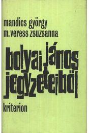 Bolyai János jegyzeteiből - Mandics György, M. Veress Zsuzsanna - Régikönyvek
