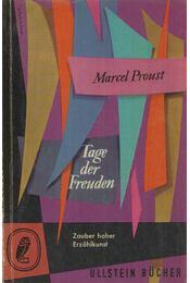 Tage der Freuden - Marcel Proust - Régikönyvek