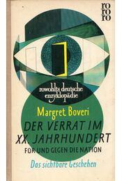 Der Verrat im 20. Jahrhundert I. - Margret Boveri - Régikönyvek