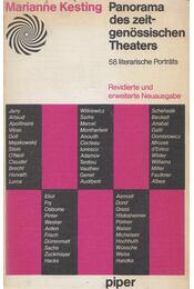 Panorama des zeitgenössischen Theaters - Marianne Kesting - Régikönyvek