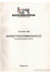 Marketingkommunikáció - Régikönyvek
