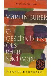 Die Geschichten des Rabbi Nachman - Buber, Martin - Régikönyvek