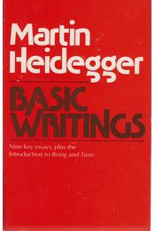 Basic Writings - Martin Heidegger - Régikönyvek