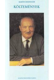Költemények - Martin Heidegger - Régikönyvek