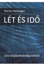 Lét és idő - Martin Heidegger - Régikönyvek