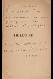 Philippine. (Dedikált.) - Maurice Bedel - Régikönyvek