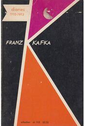 The Diaries of Franz Kafka - Max Brod (szerk.), Franz Kafka - Régikönyvek