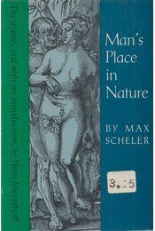 Man's Place in Nature - Max Scheler - Régikönyvek
