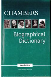 Chambers Biographical Dictionary - McGOVERN, UNA - Régikönyvek