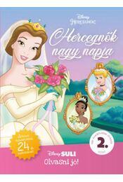 Hercegnők nagy napja - Disney Suli Olvasni jó! 2. szint - Játékos feladatokkal, 24 db matricával! - Melissa Lagonegro - Régikönyvek