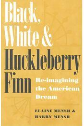 Black, White and Huckleberry Finn - MENSH, ELAINE - Régikönyvek