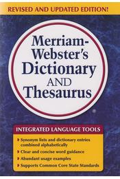 Merriam-Webster's Dictionary and Thesaurus - Régikönyvek