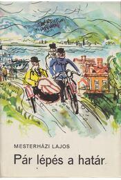 Pár lépés a határ - Mesterházi Lajos - Régikönyvek