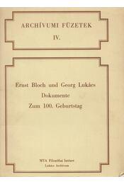 Ernst Bloch und Georg Lukács - Mesterházi Miklós, Mezei György - Régikönyvek
