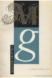 Magyar Grafika 1963. 1-6. szám (teljes) - Régikönyvek
