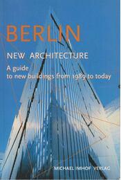 Berlin - New Architecture - Michael Imhof, León Krempel - Régikönyvek
