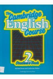 The Cambridge English Course 2 - Student's Book - Michael Swan, Catherine Walter - Régikönyvek
