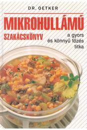 Mikrohullámú szakácskönyv - Régikönyvek