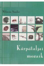 Kárpátaljai mozaik - Milován Sándor - Régikönyvek