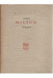 Versek / Poems - Milton, John - Régikönyvek
