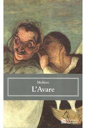 L'avare - Moliére - Régikönyvek