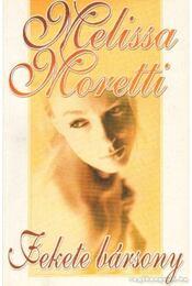 Fekete bársony - Moretti, Melissa - Régikönyvek