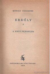Erdély II.  A nagy fejedelem - Móricz Zsigmond - Régikönyvek