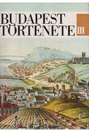 Budapest története III. - Nagy Lajos, Bónis György, Kosáry Domonkos (szerk.) - Régikönyvek