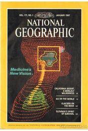 National Geographic 1987 January-December (Teljes évfolyam) - Régikönyvek