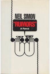 Rumors - Neil Simon - Régikönyvek