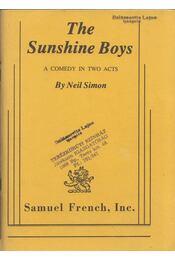 The Sunshine Boys - Neil Simon - Régikönyvek