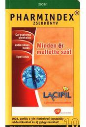 Pharmindex zsebkönyv 2003/1 - Nemeskéri Gadriella dr. - Régikönyvek