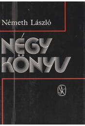 Négy könyv - Németh László - Régikönyvek