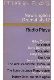 New English Dramatists 12. - Régikönyvek