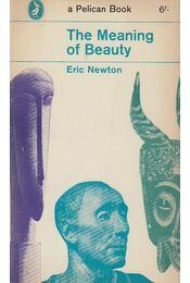The Meaning of Beauty - Newton, Eric - Régikönyvek