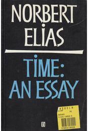 Time: An Essay - Norbert Elias - Régikönyvek